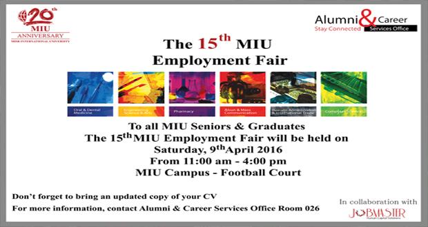 MIU Employment Fair